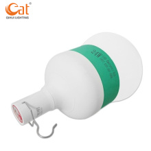 Portable electric outdoor camping LED rechargeable bulb