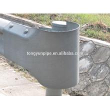 Guardrail fishtail