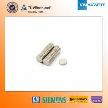 Imán de neodimio N42 D8 * 2 mm