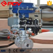 Válvula reguladora de diafragma pneumático material WCB