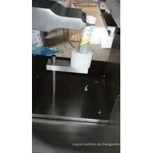 QDFM-125 máquina de sellado de tubos por ultrasonidos para cosméticos con función de impresión