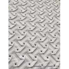 Tela de costura especial de la gasa del estilo del nuevo diseño caliente para la decoración que se viste de la manera