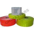 Ruban en PVC réfléchissant, matériau réfléchissant au micro-prisme pour vêtements de sécurité