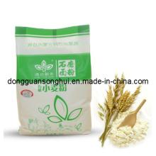 Bolsas de plástico de harina de trigo / bolsa de harina de harina / bolsa de harina