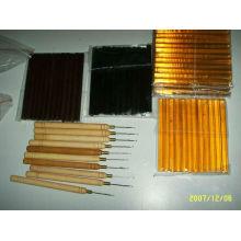 bâtons de colle, kératine dans les outils d'extension de cheveux pour salon