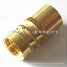 OEM que fabrica el cnc de cobre amarillo que parte de torneado cnc de acero que parte de torneado CNC de precisión de metal que parte que gira