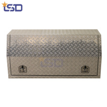 Aluminum checker plate Pickup Truck bed storage Box with lock Aluminum checker plate  Pickup Truck bed storage Box with lock