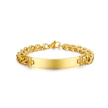 Atacado banhado a ouro pulseiras design jóias, simples pulseira de ouro jóias