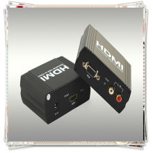 VGA+ R/L TO HDMI Converter (allows one VGA+R/L device to be converted easily to one HDMI1.1 monitor or projector)