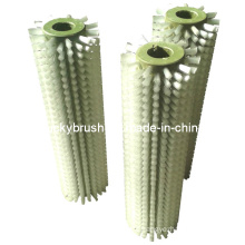 White PP Material Cleaning Roller Brush (YY-082)
