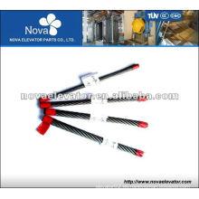 Cuerda de alambre de acero de 8 * 25Fi + Fc