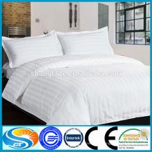 Stripe dobby bedsheet / roupa de cama para o hotel