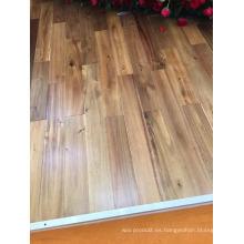 Importar acabado de aceite de cera Uso en interiores Suelo de madera de acacia