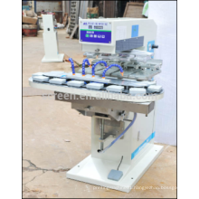 pneumatic pad printing machine 4 color