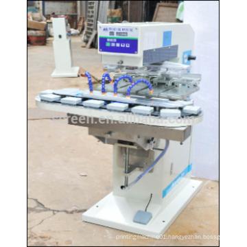 pneumatic pad printing machine 4 color