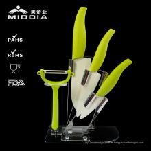 Heißer Verkauf Keramik Küche Werkzeuge 5 STÜCKE Messer Set