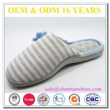 Impresión de niña de interior zapatillas de mujer caliente de fabricante de zapatos