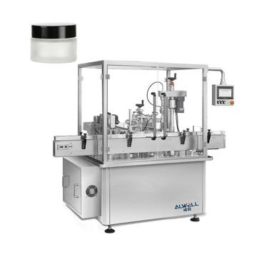 ALWELL factory price automatic liquid cream piston filling machine for honey oil shampoo paste sauce