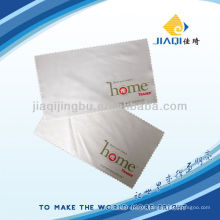 Logotipo impresso microfibra lente pano de limpeza 3m microfibra lente pano de limpeza