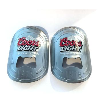 Stainless Steel Kustom Wall Mounted Beer Bottle Openers