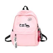 2021 New Cute Girls Pink Backpack waterproof Kids School Bag Custom Logo Rucksack Book Bags
