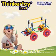 Hochwertiges kundenspezifisches Auto-modle pädagogisches zusammenbauen Spielzeug