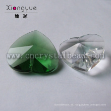 Nueva moda corazón cristal barato por mayor abalorios