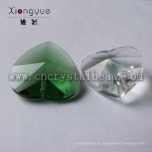 Nova moda coração cristal barato por atacado vidrilhos