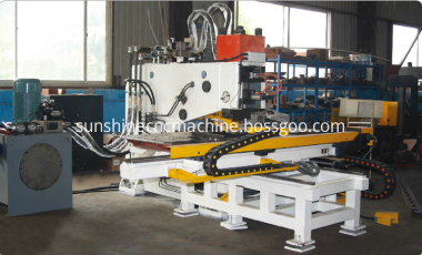 cnc plate punching machine