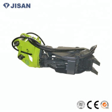 excavator attachments hydraulic wood clamp and rock clamp scrap clamp