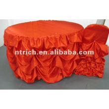 Elegant!!! 2012 wedding style ruffled table cloth,table cover,table linen
