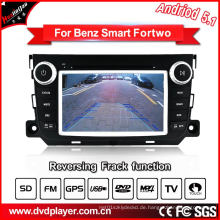 GHz Auto DVD GPS Navigation Android 5.1 / 1.6 für Smart Fortwo Car Audio mit WiFi Anschluss