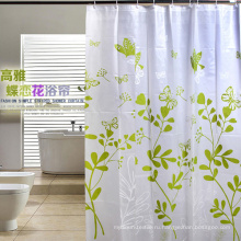 Высокое качество 100% полиэстер водонепроницаемый занавес для ванной комнаты (DPH7090)