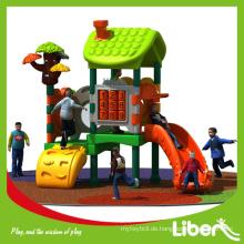 Nette Design Full Plastic Outdoor Mini Spiel Spielplatz Ausrüstung in Kanada
