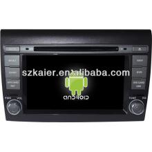 Sistema multimídia central do carro Android para Fiat Bravo com GPS / Bluetooth / TV / 3G / WIFI