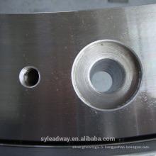 Platine tournante d'anneau de pivotement de grand diamètre PSL pour des machines d'embouteillage