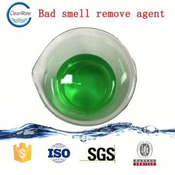 Controle de odor de desodorante de borracha para tratamento de efluentes de produtos de borracha