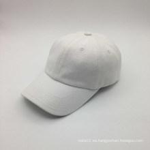 Algodón liso gorra de béisbol al por mayor del deporte (ACEW183)