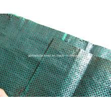 100% material de Vigin PP, teja tejida PP de la tela del geotextil tejido