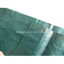 100% Vigin PP Material, PP Woven Geotextile Fabric Ground Cove