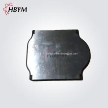 Plaque de valve coulissante de pompe à béton IHI