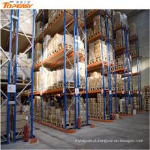 armazém logístico equipamentos industrial empilhamento prateleiras cremalheira de aço