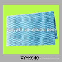 Disposable nonwoven spunlace cleaning rags for kitchen