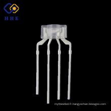 Haute qualité 4 broches 236 eau claire RVB LED diodes pour clavier