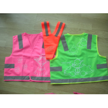 Safety Vest for Kids with Different Print Pattern