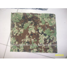 Printed camouflage stock fabric