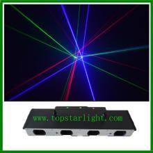 Giá bán buôn Laser chiếu sáng bốn đầu giai đoạn ánh sáng Laser