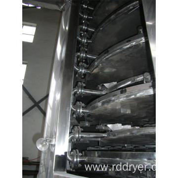 Vacuum Plate Dryer for Pesticide Granular