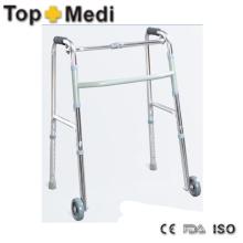 Cuidado Médico de la Salud Marco Ajustable Aluminio Walking Aid