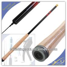 TER001 graphite canne à pêche blanc canne à pêche weihai oem carbone tenkara canne à pêche
